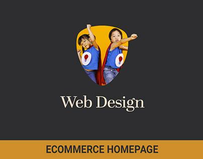 Web: B2B Homepage View