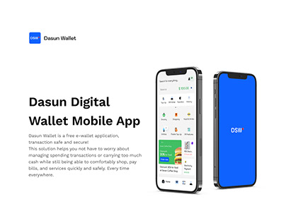 Dasun - Digital Wallet Mobile App