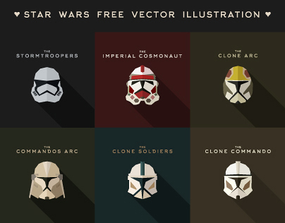 Star Wars Free Vector Illustration (Imperial Soldiers) on