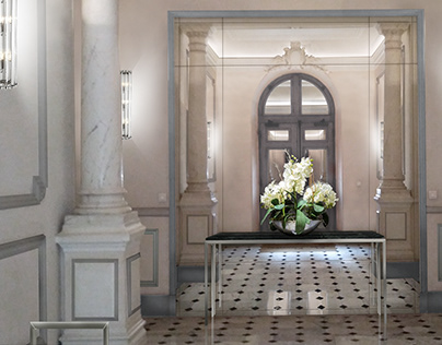 Luxury hall renovation project proposal for EKLE Monaco
