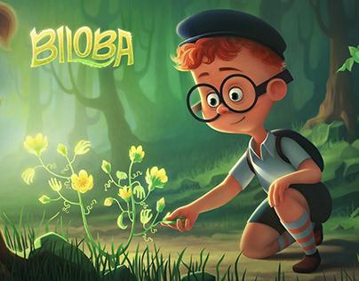 """BILOBA"" book Iillustrations"