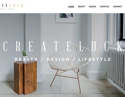 Create Luck - Webdesign