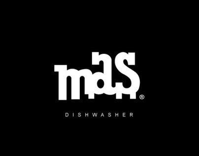 The dark side of the kitchen // Dishwasher MAS