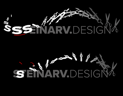 Style frame for an animated logo.