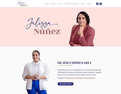 Julissa Nuñez - Website