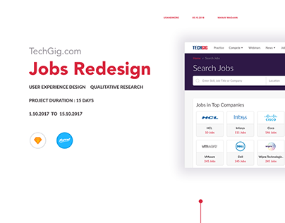 Jobs Redesign | TechGig.com