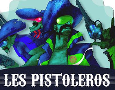 ART - Les pistoleros, graffiti