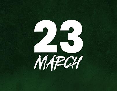 Pakistan Resolution Day - Social Media Banner