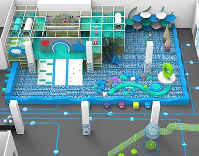 "Indoor playground ""BABYBUM"""