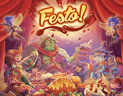 Festo! - Board game visual development