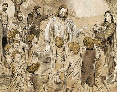 """""""Jesus e as Crianças"""" para o BS Hoje"""