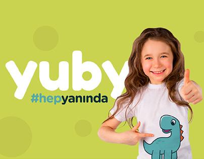 "Branding for ""Yuby Kids Club"""