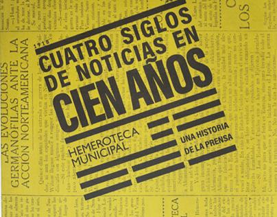 AYUNTAMIENTO DE MADRID - Centenario Hemeroteca Madrid
