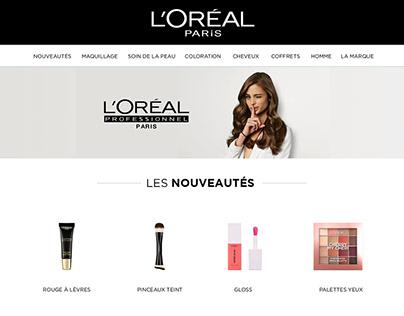 L'Oréal Paris - Newsletter