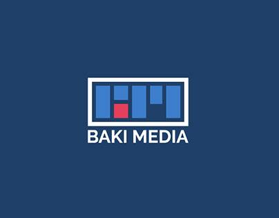 Baki Media   Logo design