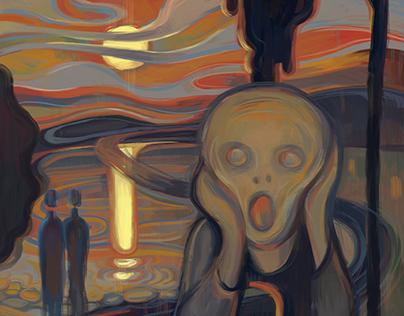 The Adobe 5th Scream Contest / #MunchContest