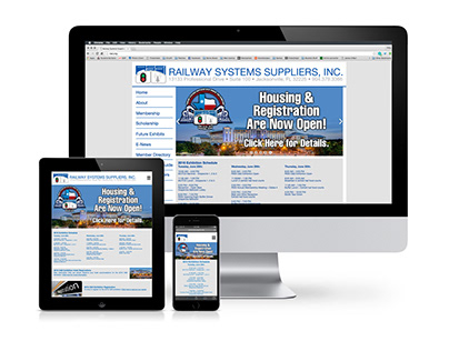 Railway Systems Suppliers Website