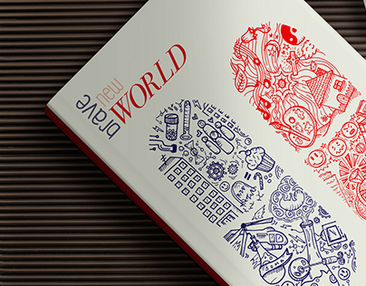 Brave New World Book Cover Redesign