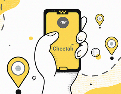 "Mobile application for taxi service ""Cheetah"""