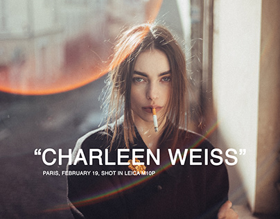 Charleen Weiss in Paris