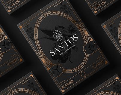 Santos Cocktail Bar Identity