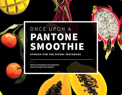 Once Upon a Pantone Smoothie Book