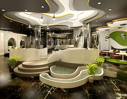 Restaurant interior design 室内设计