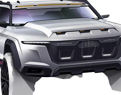 Audi Quattro Truck