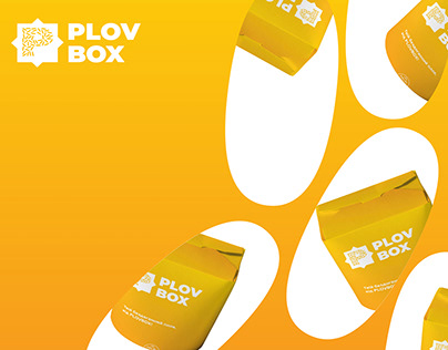 Plovbox - pilaf delivery visual identity