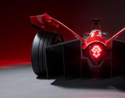 Porsche Formula E , V-Ray 5 Material Library