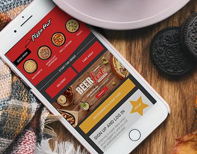 Pizza App UI/UX