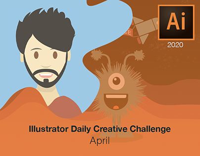 Illustrator Daily Creative Challenge - April