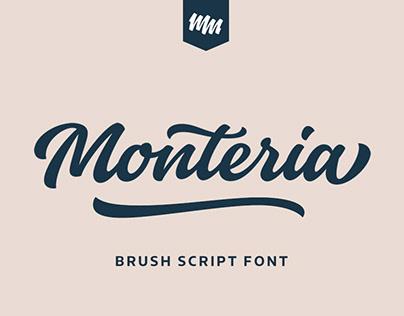 Monteria typeface