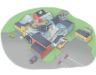 Concept for Medelpad Fire Department