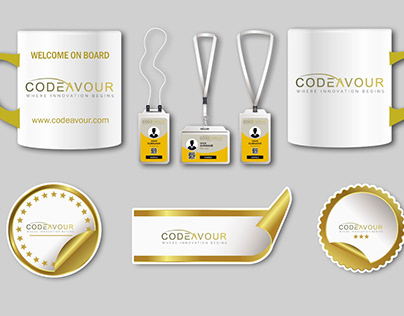 Stationary Design with Branding Products