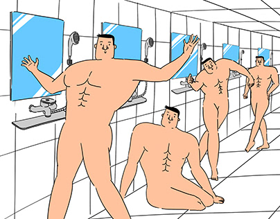 korea Baths Art_man