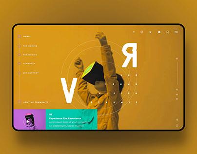 VR Ui Design Concept