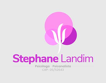 Psicóloga Stephane Landim • Logotipo