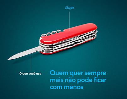 Skype for Business na Apex-Brasil