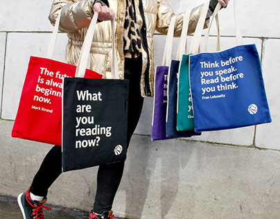 The New York Public Library Quote Totes and Pouches