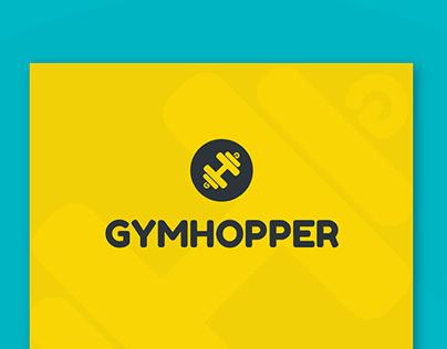 Gymhopper - Startup Brand Identity