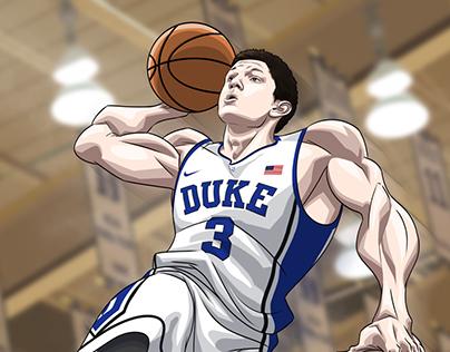 Duke Basketball Art