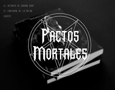 Pactos Mortales | Portadas rediseñadas
