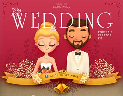 Personal Wedding Portrait Creator — $12
