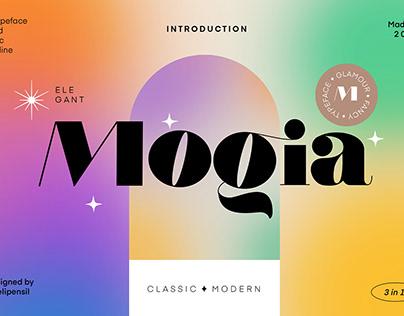 Mogia - Modern Serif Typeface