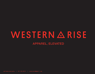western rise - 2020 product offering
