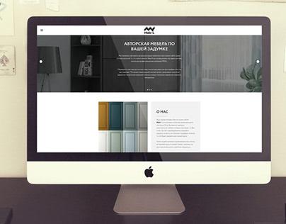 Сайт на Tilda + создание логотипа Meb-l
