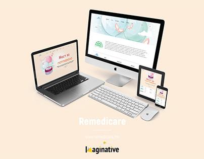 Web Design & Development – Remedicare.mk | IA