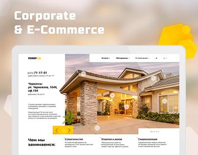 Respectbud — Corporate and E-commerce website