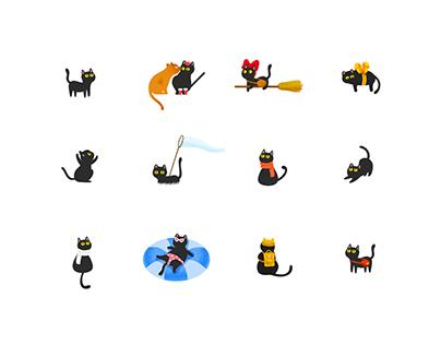 Neko Calendar Motion Design